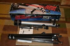 Vintage Jason 400x Model 411 Astronomical Telescope In The Box (Missing peices)