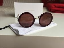 Brand New Genuine Linda Farrow Gallery The Row 8/18 Sunglasses + Box + Pouch
