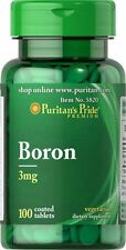 Boron 3 mg x 100 Tablets Puritans Pride * AMAZING PRICE *