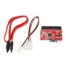 US IDE to SATA Serial ATA Converter/Adapter for HOST/Drive New Red Free Ship