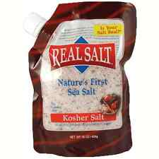 REDMOND REAL SALT™|UNREFINED SEA SALT| KOSHER SALT|REFILL POUCH| 454G| 4+ MONTH