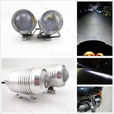 2x 12V Cree U2 LED Laser Motorcycle #L Waterproof Head Light Spot Light Fog Lamp
