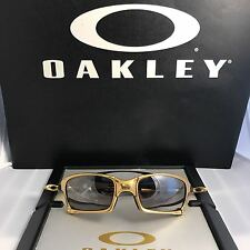 RARE OAKLEY X SQUARED 24K LIMITED EDITION / TITANIUM IRIDIUM POLARIZED 422/750RA