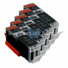 5 PGI-250XL Ink Tank for Canon Printer Pixma MX722 MX922 MG5420 PGI-250BK PGI250