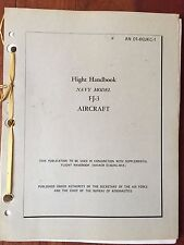 Flight Handbook for Navy Model FJ-3 August 1957