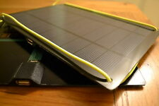 Universal 1.1amp Solar panel charger for iphone android 2 USB ports, linkable