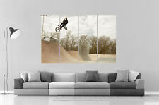 Freestyle BMX Tricks Poster Great format A0 Wide Print