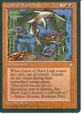 MAGIC THE GATHERING ICE AGE RED CURSE OF MARIT LAGE