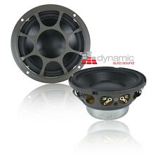 "Morel HYBRID MW4 Drivers 4"" Car Audio Hybrid Series Mid-Bass Woofers (Pair) New"