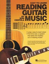 Reading Guitar Music - Book - Sheet Music NEW 000333523