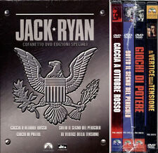 4 Dvd Box **JACK RYAN COFANETTO EDIZIONI SPECIALI** comprende 4 film