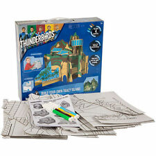 BUILD MAKE CREATE & COLOUR YOUR OWN THUNDERBIRDS TRACY ISLAND TOY MODEL 52-0006