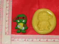 Ninja Turtle Silicone Push Mold 136 Cake Supplies Candy Chocolate Resin Fondant