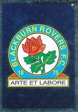 R4 BADGE LOGO # ENGLAND BLACKBURN ROVERS.FC CARD PREMIER LEAGUE 2011 TOPPS