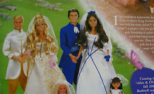 Barbie ® princesse Anneliese, Julian, Erika, roi Dominick vêtements neuf emballage d'origine, 2004