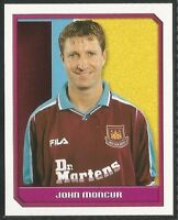 Merlin 2000 Premier League #503 - WEST HAM UNITED - JOHN MONCUR