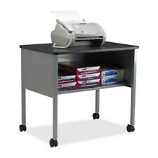 Mayline Mobile Machine Stand with Open Storage Shelf - 2140CAANTGRY