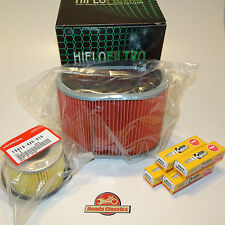 Honda Engine Service Kit GL1000 Gold Wing - Oil Air Filter Plugs. KIT036
