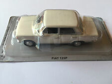 "DIE CAST "" FIAT 125P "" AUTO DELL' EST SCALA 1/43"
