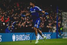 Diego Costa Signed 8x12 Chelsea Photograph AFTAL/UACC RD