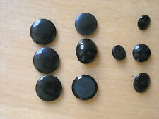 ASSORTED BLACK BUTTONS