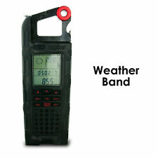 ETON RAPTOR SOLAR CHARGER WEATHER RADIO, AM-FM-WEATHER, NSP200WXB, NEW $74.50