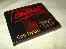 CD Album Bob Dylan Tempest with card slipcover and book