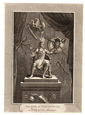 Haloch or Tescalipuca A Deity of The Mexicans Print 1700s / Mexico
