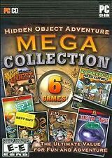 HIDDEN OBJECT ADVENTURE MEGA COLLECTION SEEK & FIND PC GAME! NEAR MINT+
