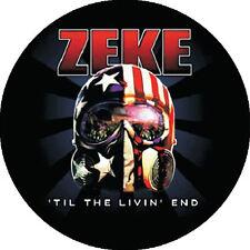 CHAPA/BADGE ZEKE . punk dwarves nirvana motorhead ramones antiseen gearhead