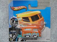 Hot Wheels 2013 #169/250 VW VOLKWAGEN KOOL KOMBI orange New casting