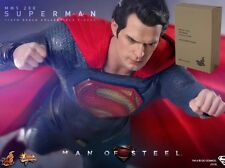 HOT TOYS - MAN OF STEEL - Superman - MMS200 NEW (Brown Box Sealed)