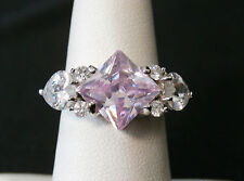 Beautiful Lavender Stone QVC Special Sterling Silver Ring    Make Offer!
