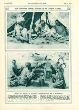 1916 Indian Allied Troops Camp Salonika Harness-makers Blacksmith