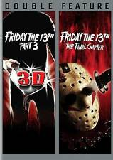 2 MOVIES-FRIDAY THE 13TH PT 3(3D) & FRIDAY THE 13TH THE FINAL CHAPTER/NEW DVD