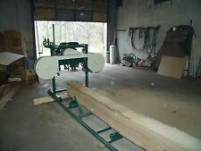 BAND SAWMILL PLANS BUILD IT YOURSELF COMPLTETE INSTRUCTIONS (VEIW VIDEO BELOW)