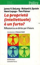 La proprietà (intellettuale) è un furto?- AA.VV. 2006 Rubbettino- ST391