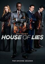 House Of Lies . The Complete Season 2 . Don Cheadle . Kristen Bell . 2 DVD . NEU