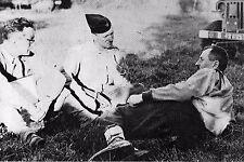 WW2 - Le Gal Leclerc prend un moment de détente avant de rentrer dans Paris