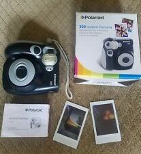 Polaroid 300 Instant Film Camera Black Excellent condition FREE SHIPPING