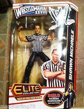 Mattel WWE Elite REFEREE SHAWN MICHAELS TRU Best of PPV BAF Ricardo Exclusive