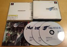 FINAL FANTASY VII 7 NTSC-J JAPANESE JAPAN for SONY PS1, PS2 & PS3