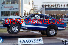 "Hubert Platt ""Georgia Shaker"" 1970 Ford Maverick Pro Stocker ""Wheels UP"" PHOTO!"