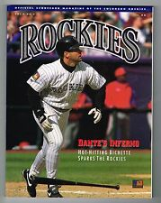 1994 Colorado Rockies MLB Baseball Magazine Volume 2 #3 Program