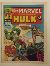 The Mighty World of Marvel, No.66, Week Ending, January 5th, 1973