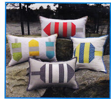 Buoy Pilows - nautical design cushions PATTERN - Midcoast Cottage Design