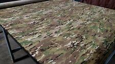 "MULTICAM MILITARY CAMO NY/CO RIPSTOP BY THE YARD CAMOUFLAGE FABRIC 64""W APPAREL"