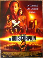 LE ROI SCORPION - KELLY HU - BERNARD HILL GRANT HESLOV (AFFICHE CINEMA 53x40)