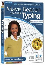 MAVIS BEACON TEACHES TYPING PERSONAL EDICIÓN PARA WINDOWS 8, 7, VISTA, MAC