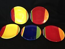 Five Sonoma Colorfast lll Dinner Plates Exc